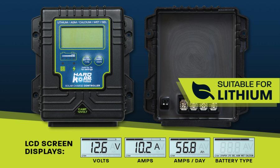 Hard Korr 15A smart solar regulator