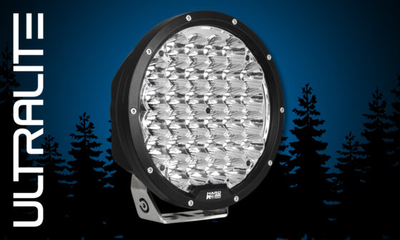 "Hard Korr Ultralite 9"" LED driving light"
