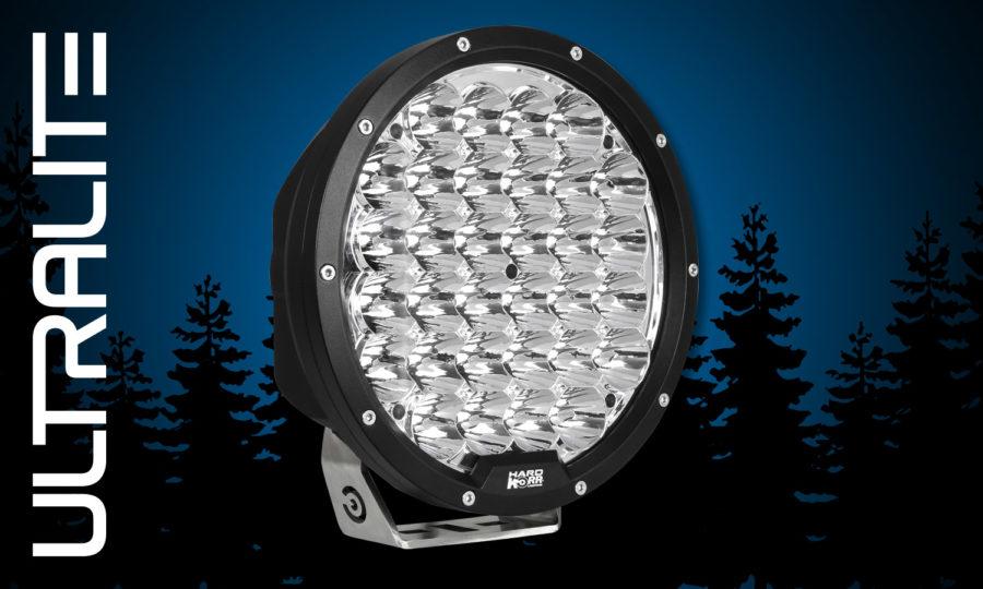 """Hard Korr Ultralite 9"""" LED driving light"""
