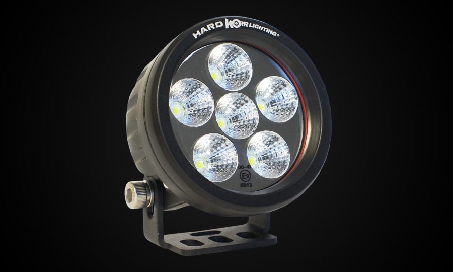 Hard korr 18w round flood light
