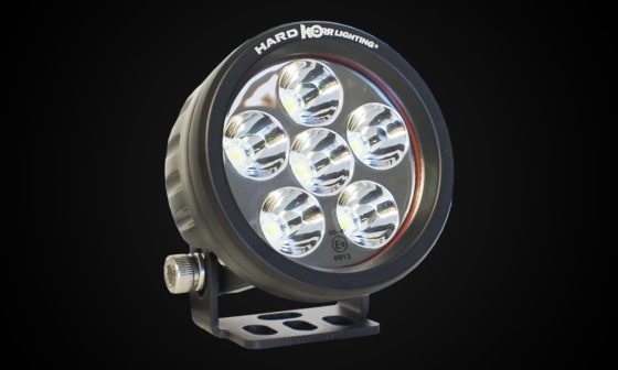 Hard Korr 18w round spot light