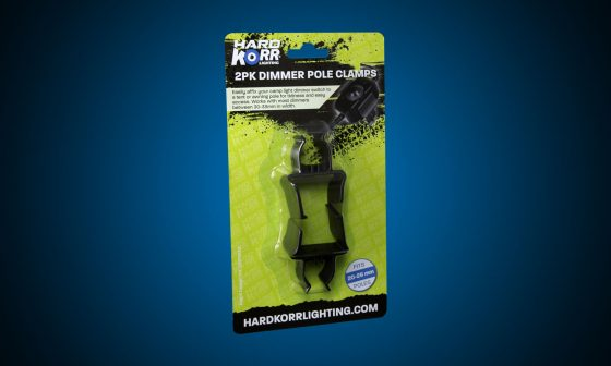 Dimmer clips for Hard Korr camp light bars