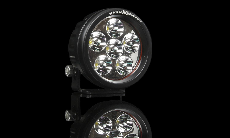 Led Driving Lights Hard Korr Nz Wiring Harness For Single Row Light Bar Xsurge Hk Series 18w Round Spot Hkrs18