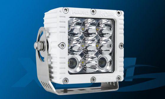 Marine flood light for lighting deck or docking