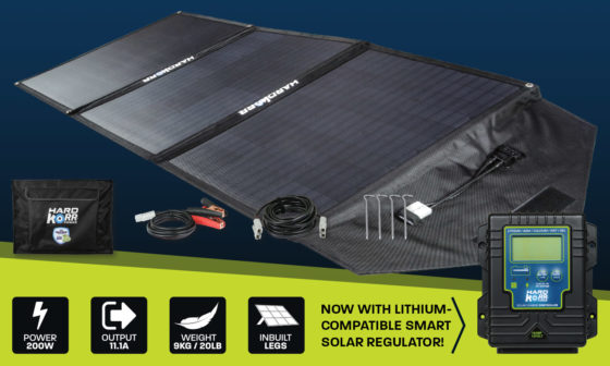 Hard Korr 150w heavy duty portable solar panels