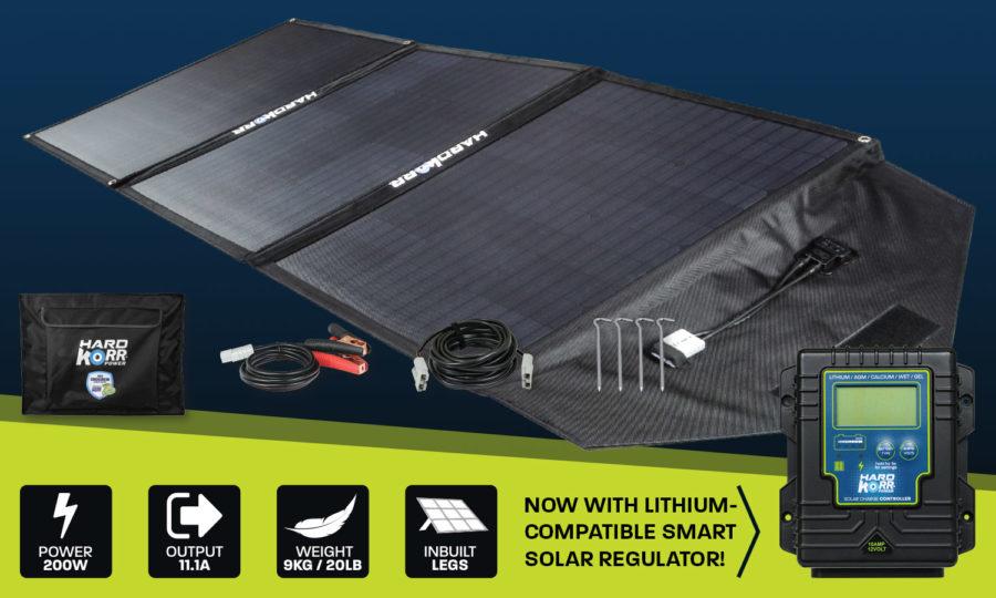 Hard Korr 150w heavy duty portable solar panels