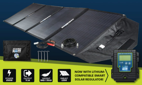 200w heavy duty portable solar panels