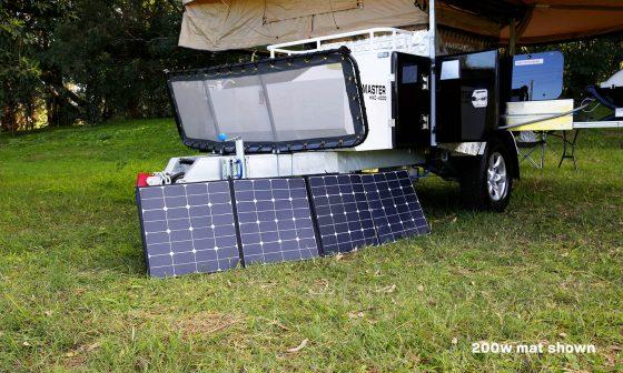 Portable Overland Solar Panels