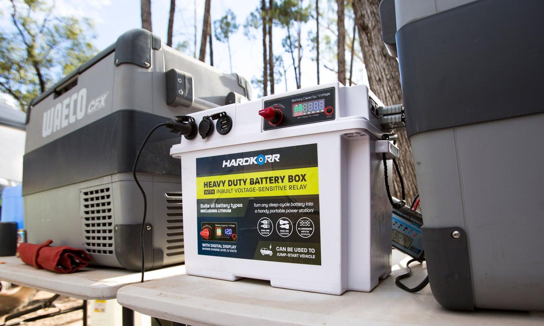 Heavy Duty Battery Box with VSR