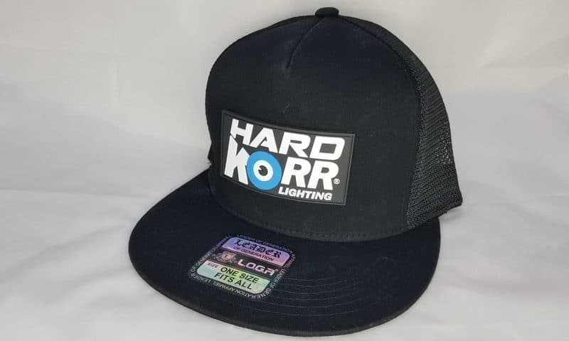 Hard Korr Lighting Black Trucker