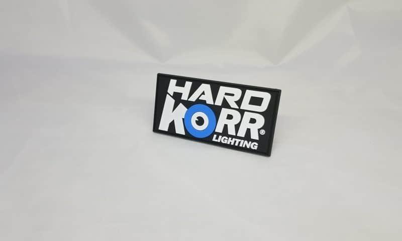 Hard Korr Lighting Patch No Velcro Backing
