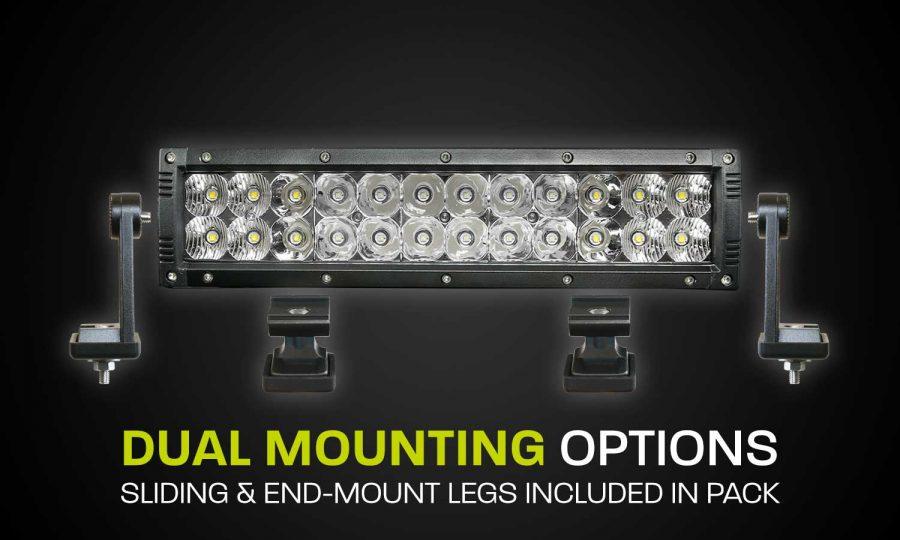 Dual Row LED Light Bar Hard Korr XDD400-G3
