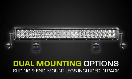 Dual Row LED Light Bar Hard Korr XDD550-G3