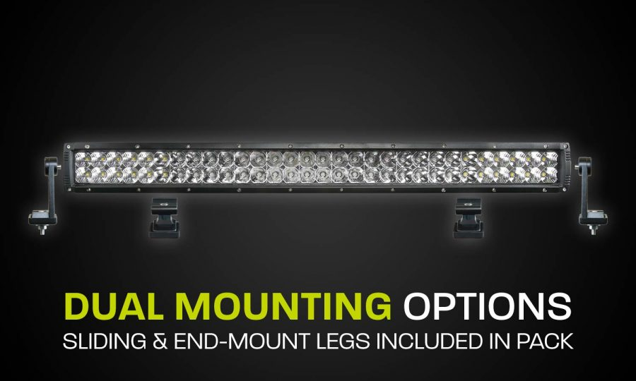 Dual Row LED Light Bar Hard Korr XDD600-G3