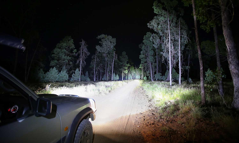 LED Driving Lights 9 Inch BZR Series Hard Korr